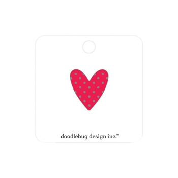 Doodlebug SWEETHEART Collectable Enamel Pin 6588