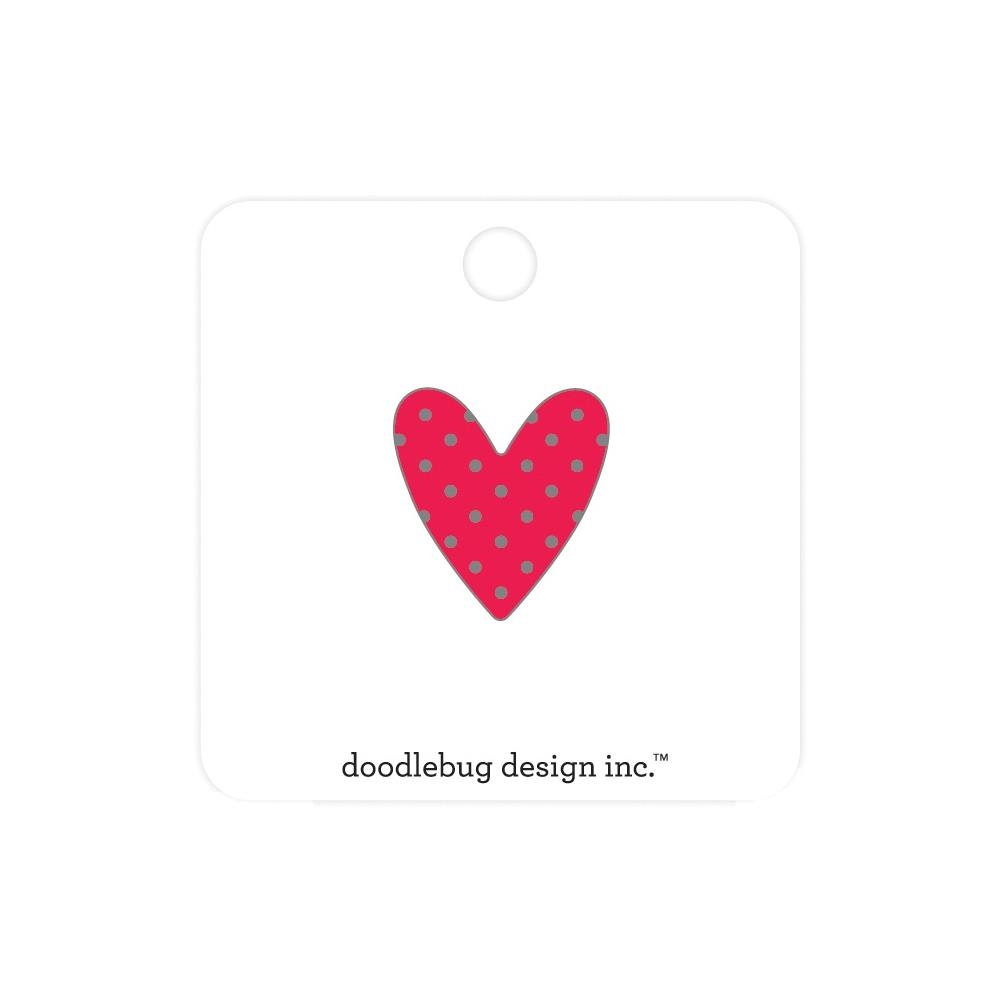 Doodlebug SWEETHEART Collectable Enamel Pin 6588 zoom image