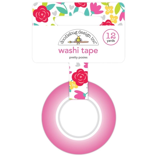 Doodlebug PRETTY POSIES Washi Tape Love Notes 6570 Preview Image