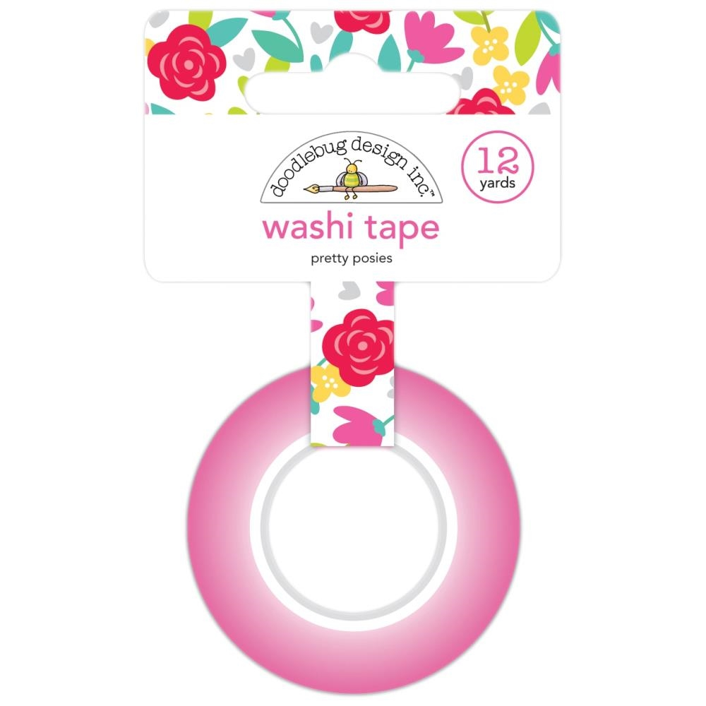 Doodlebug PRETTY POSIES Washi Tape Love Notes 6570 zoom image