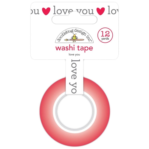 Doodlebug LOVE YOU Washi Tape Notes 6571 Preview Image