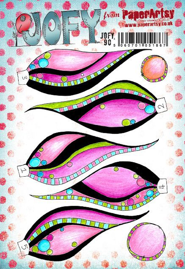 Paper Artsy JOFY 90 Cling Stamps jofy90 zoom image