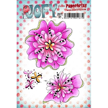 Paper Artsy JOFY 91 Cling Stamps jofy91