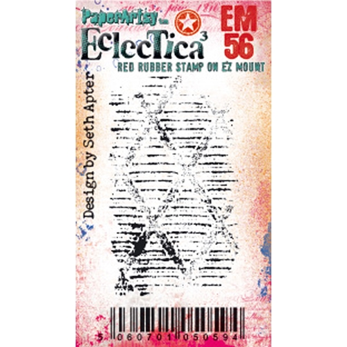 Paper Artsy ECLECTICA3 SETH APTER MINI 56 Cling Stamp em56 Preview Image