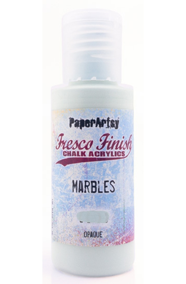 Paper Artsy Fresco Finish MARBLES Chalk Acrylic Paint ff171 zoom image