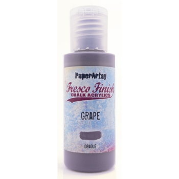 Paper Artsy Fresco Finish GRAPE Chalk Acrylic Paint ff175