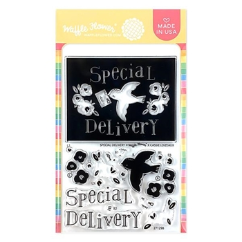 Waffle Flower SPECIAL DELIVERY Clear Stamps 271298
