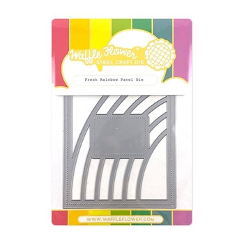 Waffle Flower FRESH RAINBOW Panel Die 310369