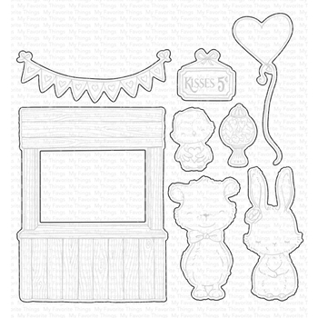 My Favorite Things KISSING BOOTH Die-Namics Dies MFT1695