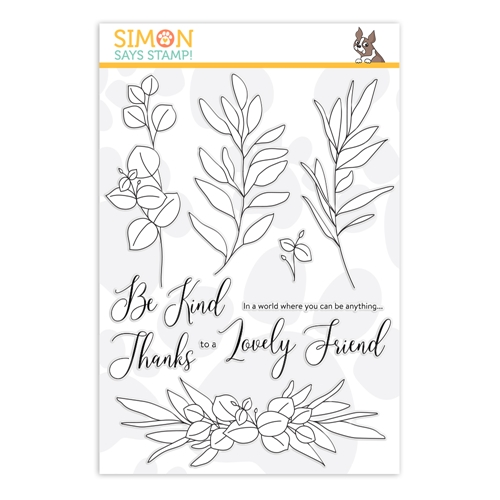 Simon Says Clear Stamps BE KIND sss202099 Hey Bestie Preview Image