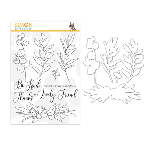 Simon Says Stamps And Dies BE KIND set370bk Hey Bestie Preview Image