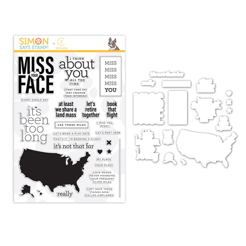 Simon Says Stamps And Dies MISS YOU MISSY set371mym Hey Bestie Preview Image