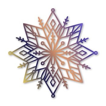 Simon Says Stamp SNOWFLAKE MANDALA Wafer Die sssd112075 Hey Bestie