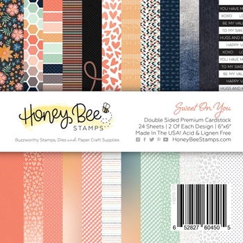 Honey Bee SWEET ON YOU 6 x 6 Paper Pad hbpa-011