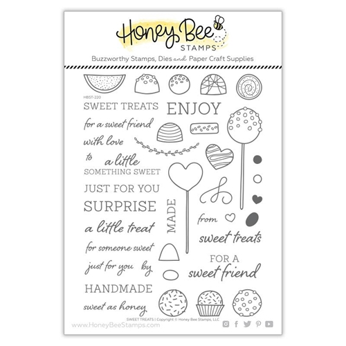 Honey Bee SWEET TREATS Clear Stamp Set hbst-220 Preview Image