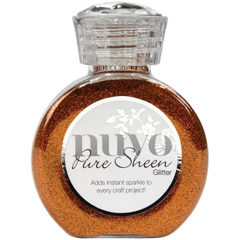 Tonic SPICED APRICOT Nuvo Pure Sheen Glitter 727n