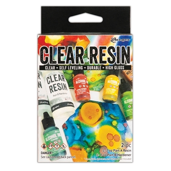 RESERVE Tim Holtz CLEAR RESIN KIT Ranger ink69768