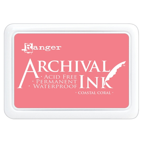 Ranger Archival Ink Pad COASTAL CORAL aip69300 Preview Image