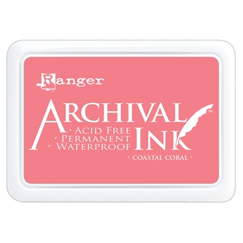 Ranger Archival Ink Pad COASTAL CORAL aip69300