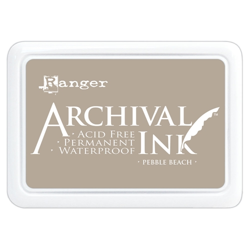 Ranger Archival Ink Pad PEBBLE BEACH aip70788 Preview Image