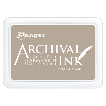 Ranger Archival Ink Pad PEBBLE BEACH aip70788
