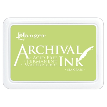Ranger Archival Ink Pad SEA GRASS aip70801