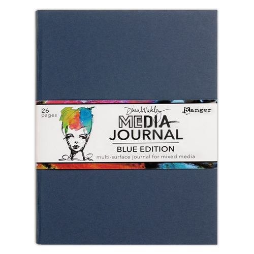 Dina Wakley Ranger BLUE EDITION Media Journal mdj69171 Preview Image