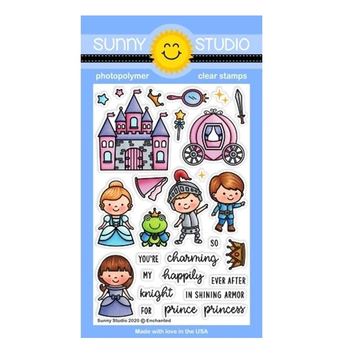 Sunny Studio ENCHANTED Clear Stamps SSCL-251 Preview Image
