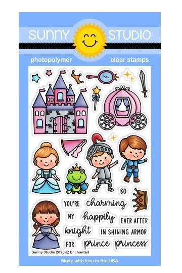 Sunny Studio ENCHANTED Clear Stamps SSCL-251 zoom image