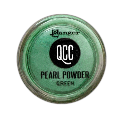 Ranger GREEN QuickCure Clay Pearl Powder qcp71686 Preview Image