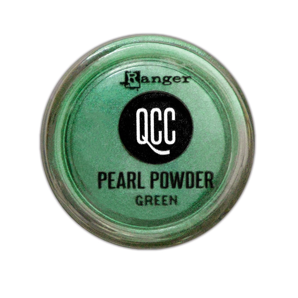 Ranger GREEN QuickCure Clay Pearl Powder qcp71686 zoom image