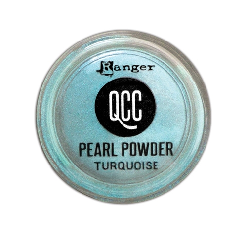 Ranger TURQUOISE QuickCure Clay Pearl Powder qcp71709 Preview Image