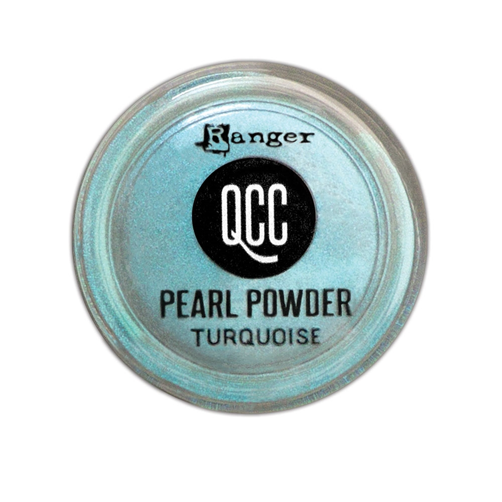 Ranger TURQUOISE QuickCure Clay Pearl Powder qcp71709 zoom image