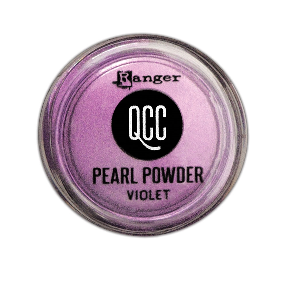 Ranger VIOLET QuickCure Clay Pearl Powder qcp71716 zoom image