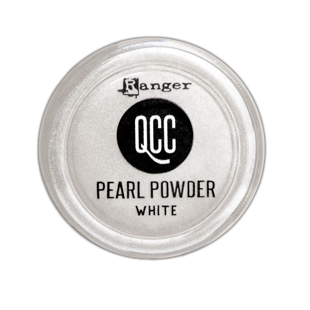 Ranger WHITE QuickCure Clay Pearl Powder qcp71723 zoom image
