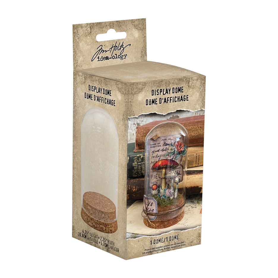 Tim Holtz Idea-ology DISPLAY DOME th94026 zoom image