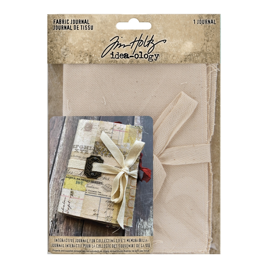 Tim Holtz Idea-ology FABRIC JOURNAL th94029 zoom image