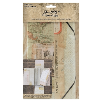 RESERVE Tim Holtz Idea-ology TRAVEL FOLIO th94032