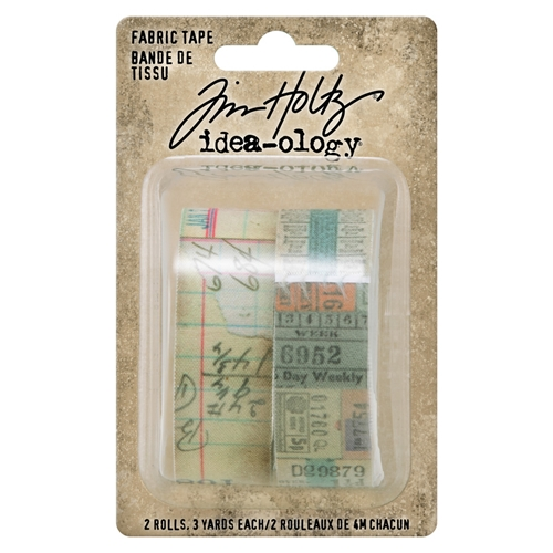 Tim Holtz Idea-ology FABRIC TAPE Embellishments th94041 Preview Image