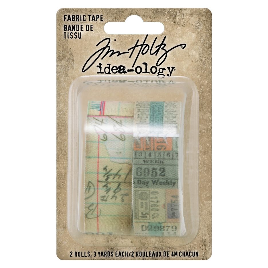 Tim Holtz Idea-ology FABRIC TAPE Embellishments th94041 zoom image
