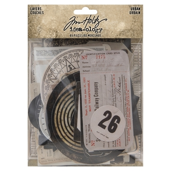 RESERVE Tim Holtz Idea-ology URBAN LAYERS th94042