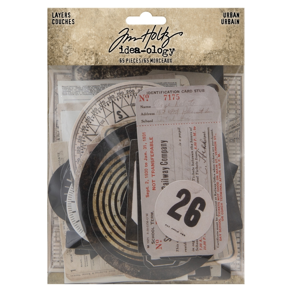 Tim Holtz Idea-ology URBAN LAYERS th94042 zoom image