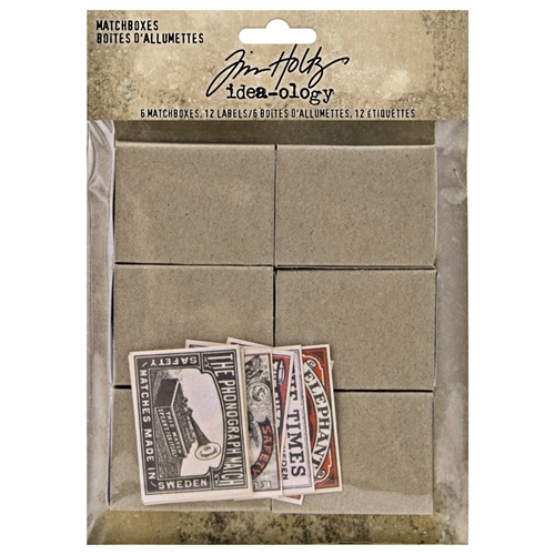 Tim Holtz Idea-ology MATCHBOXES th94050 Preview Image