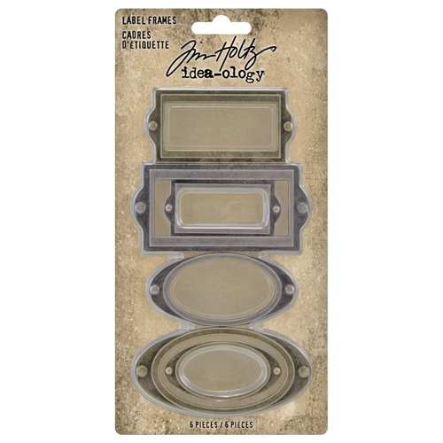 Tim Holtz Idea-ology LABEL FRAMES th94052 Preview Image