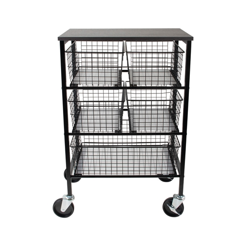 Tim Holtz Idea-ology UTILITY BASKET STORAGE CART Storage ch93863 Preview Image