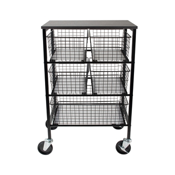 Tim Holtz Idea-ology UTILITY BASKET STORAGE CART Storage ch93863
