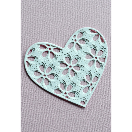 Birch Press Design FLORA HEART LAYER SET Craft Dies 56120 Preview Image
