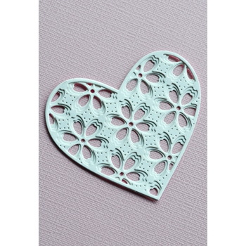 Birch Press Design FLORA HEART LAYER SET Craft Dies 56120
