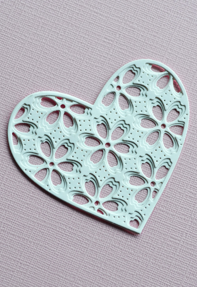 Birch Press Design FLORA HEART LAYER SET Craft Dies 56120 zoom image