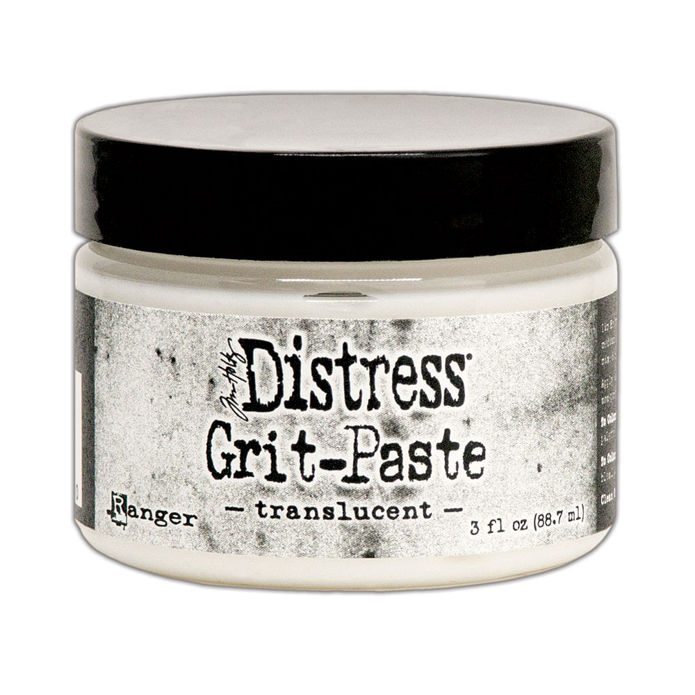 Tim Holtz TRANSLUCENT 3oz Distress Grit Paste Ranger tda71730 zoom image